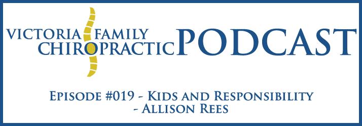Victoria Family Chiropractic Podcast EP 19 Victoria BC